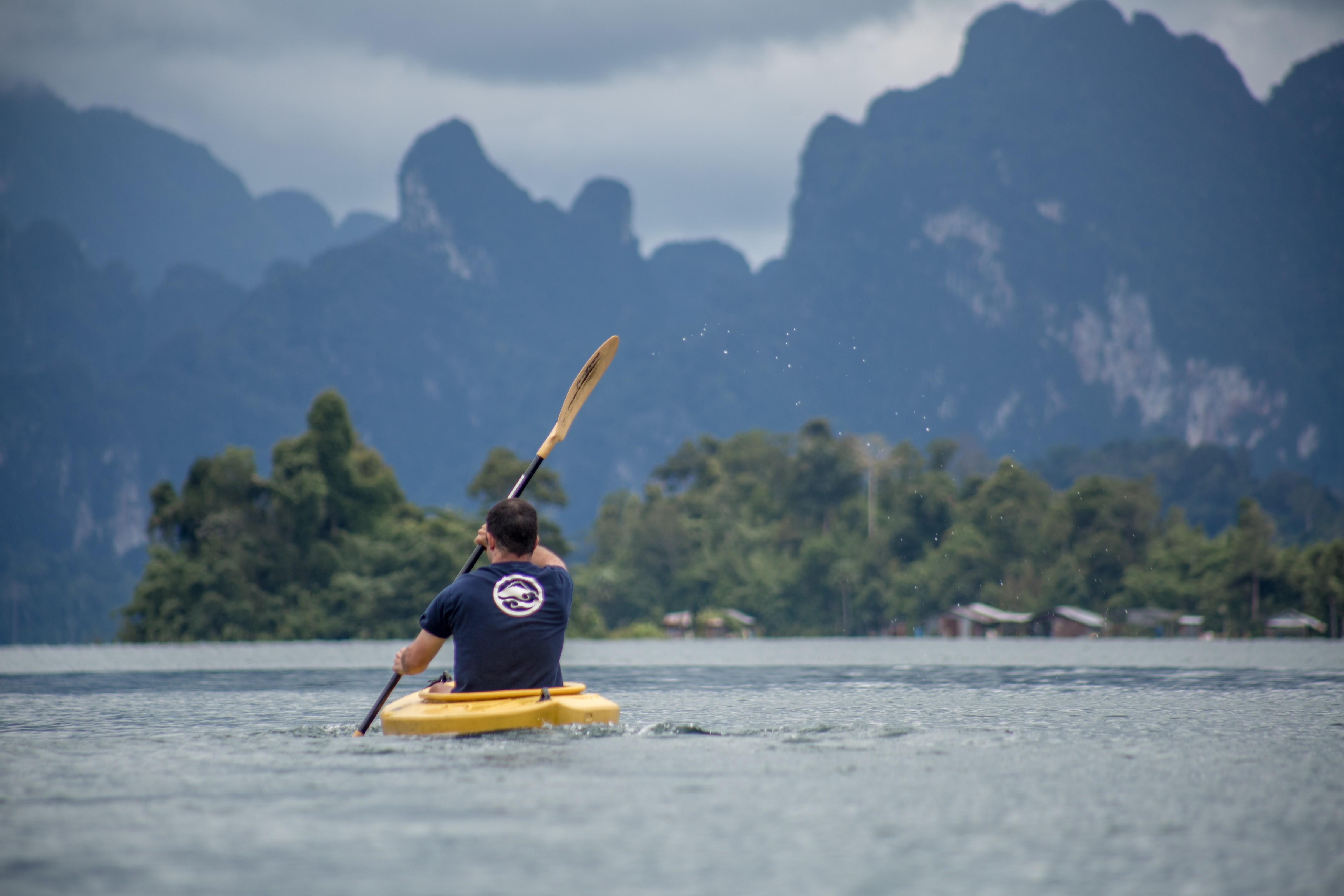 Kayaking Khao Sok Lake Day tour