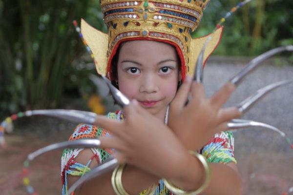 Anurak Nora Traditional Dance girl performance
