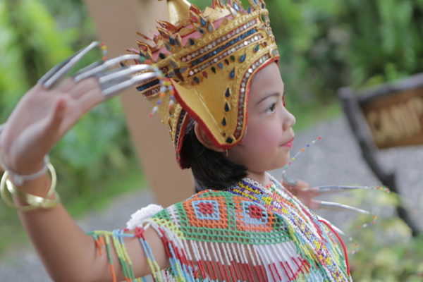 Local dancer from the side Anurak Nora TraditionAnurak Nora Traditional Dance
