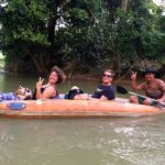 Guests during Khao Sok River Canoe