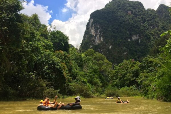 Khao Sok River Tubing Great fun