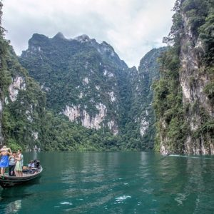 Stunning scenery during Khao Sok Lake Day tour