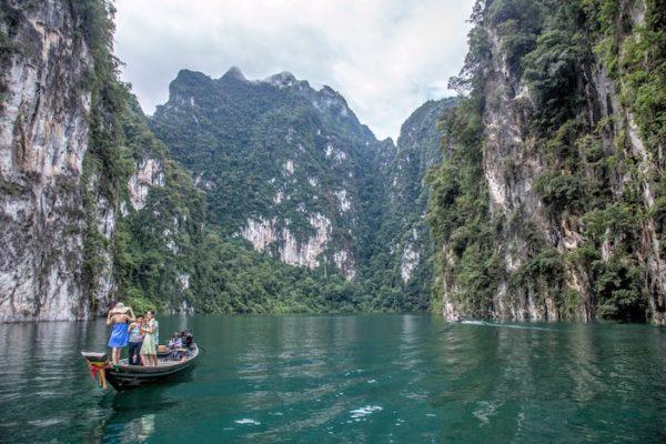 Stunning scenery during Khao Sok Lake Day tour