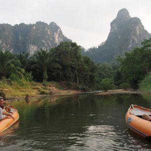 Khao Sok Canoe great scenery