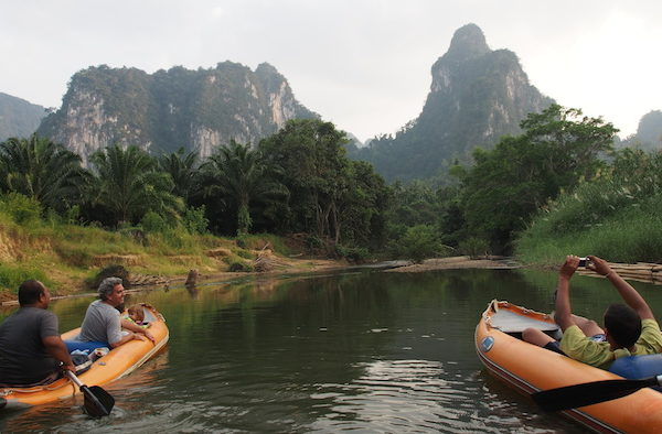 Khao Sok Canoe great scenery