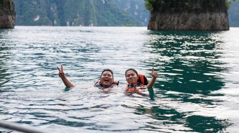 Chew Lan Lake by Anurak Lodge
