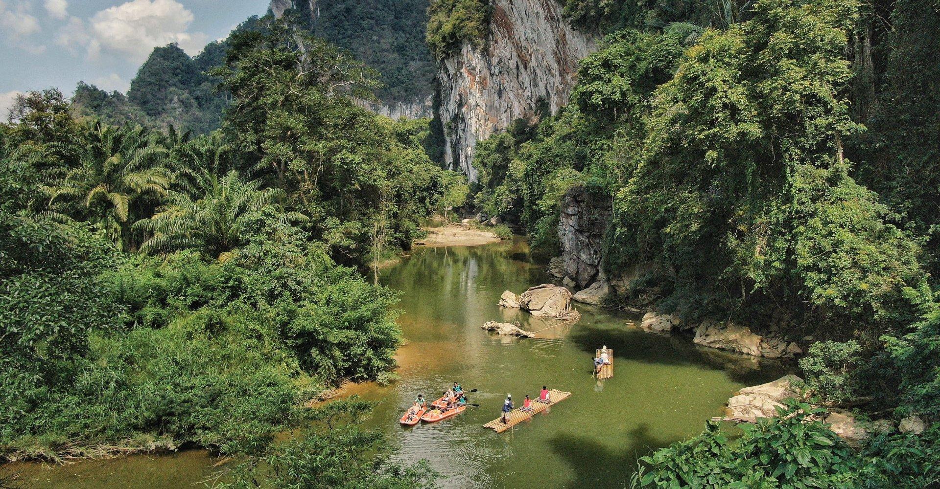 Khao Sok River by Canoe
