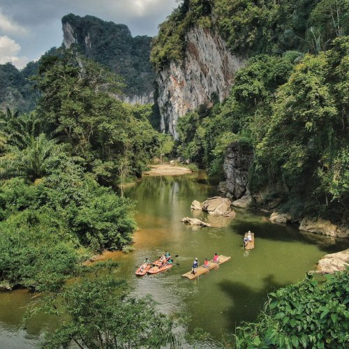 Khao Sok River by Canoe