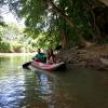 Canoe at Anurak Lodge